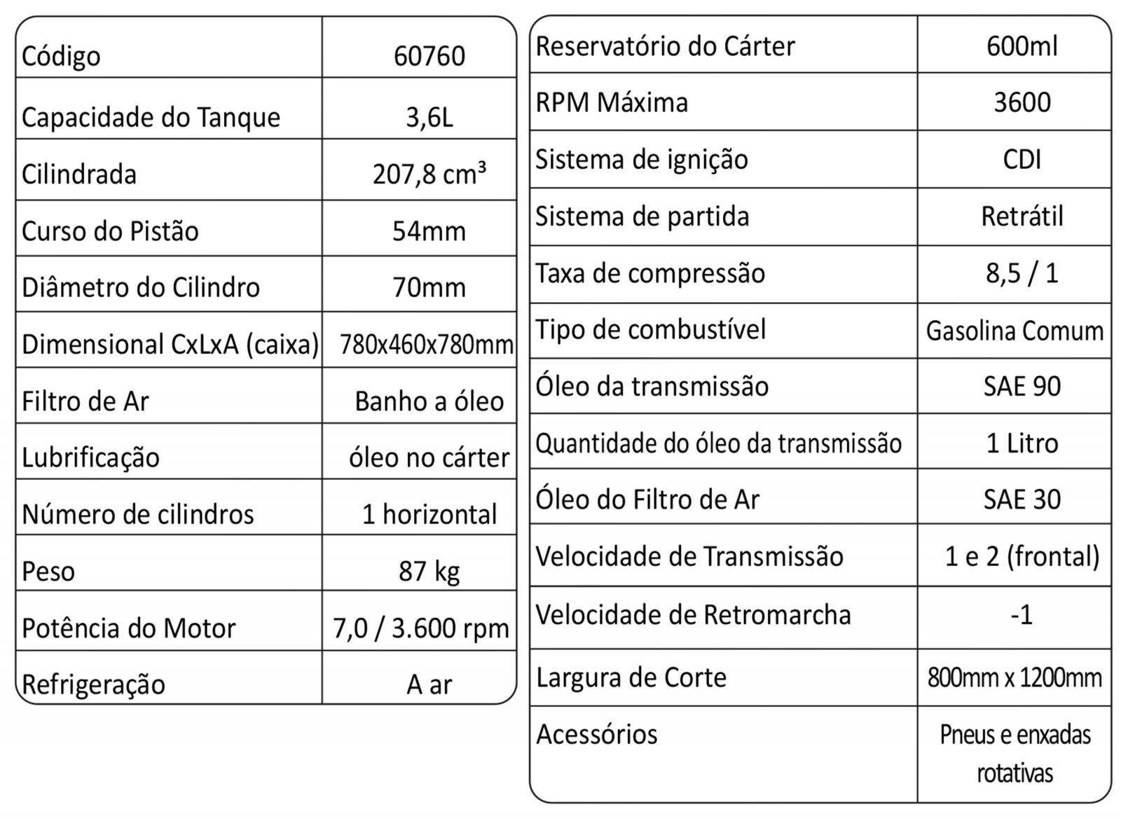 Motocultivador a Gasolina com Enxada Rotativa 7hp Buffalo BFG 890 - Ferramentas MEP