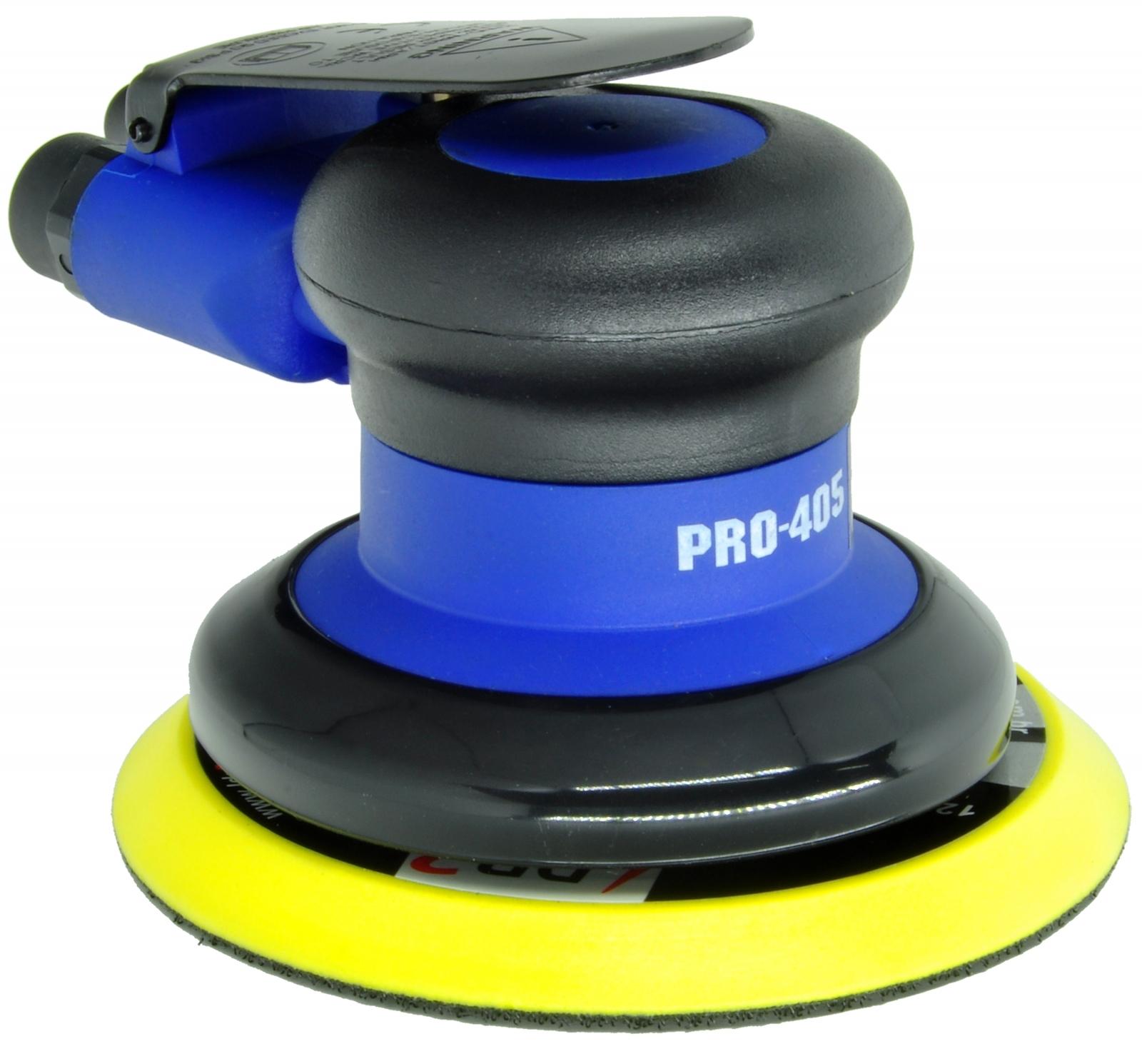 Lixadeira Pneumática Roto Orbital Hookit PDR Pro-405 Base 5