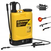 Pulverizador Costal 16 Litros Matsuyama Bateria e Manual Pt1