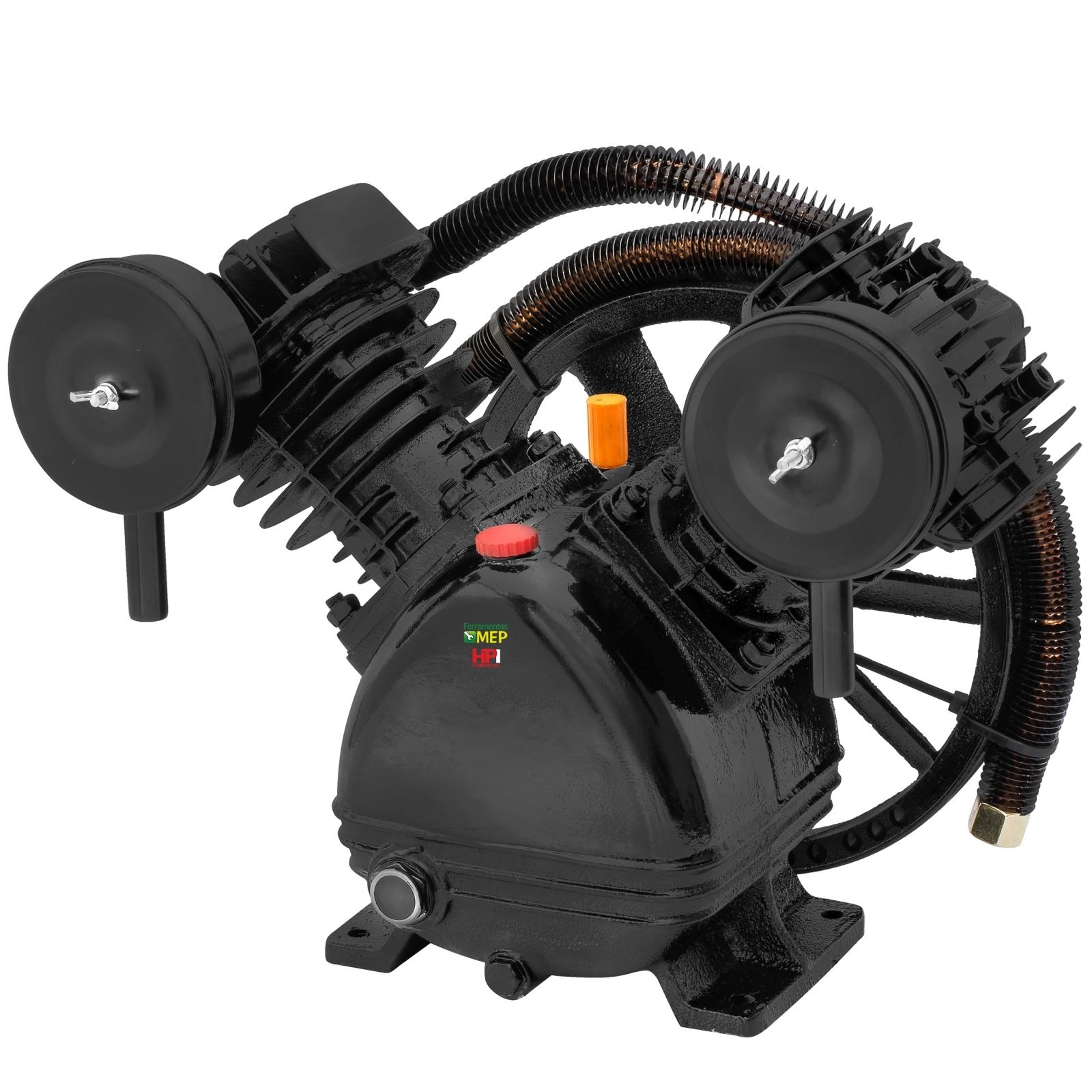 Cabeçote Para Compressor De Ar Motomil 20 Pés Baixa Pressão - C2B - Ferramentas MEP