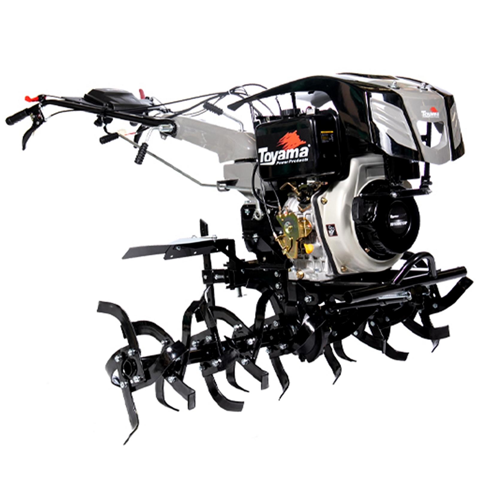 Motocultivador A Diesel Com Enxada Rotativa Toyama 11hp Mc8 Partida Elétrica  - Ferramentas MEP