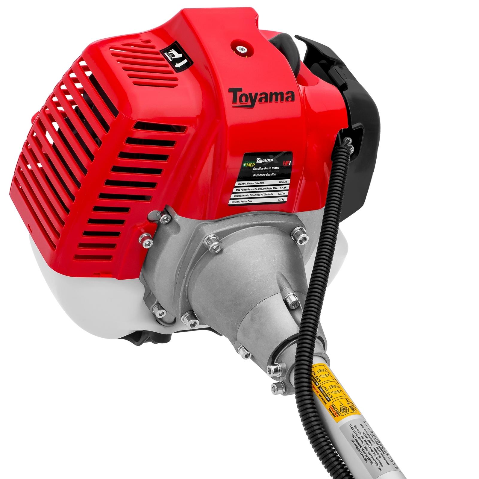 Roçadeira A Gasolina Toyama Tbc43x 42,7cc  - Ferramentas MEP