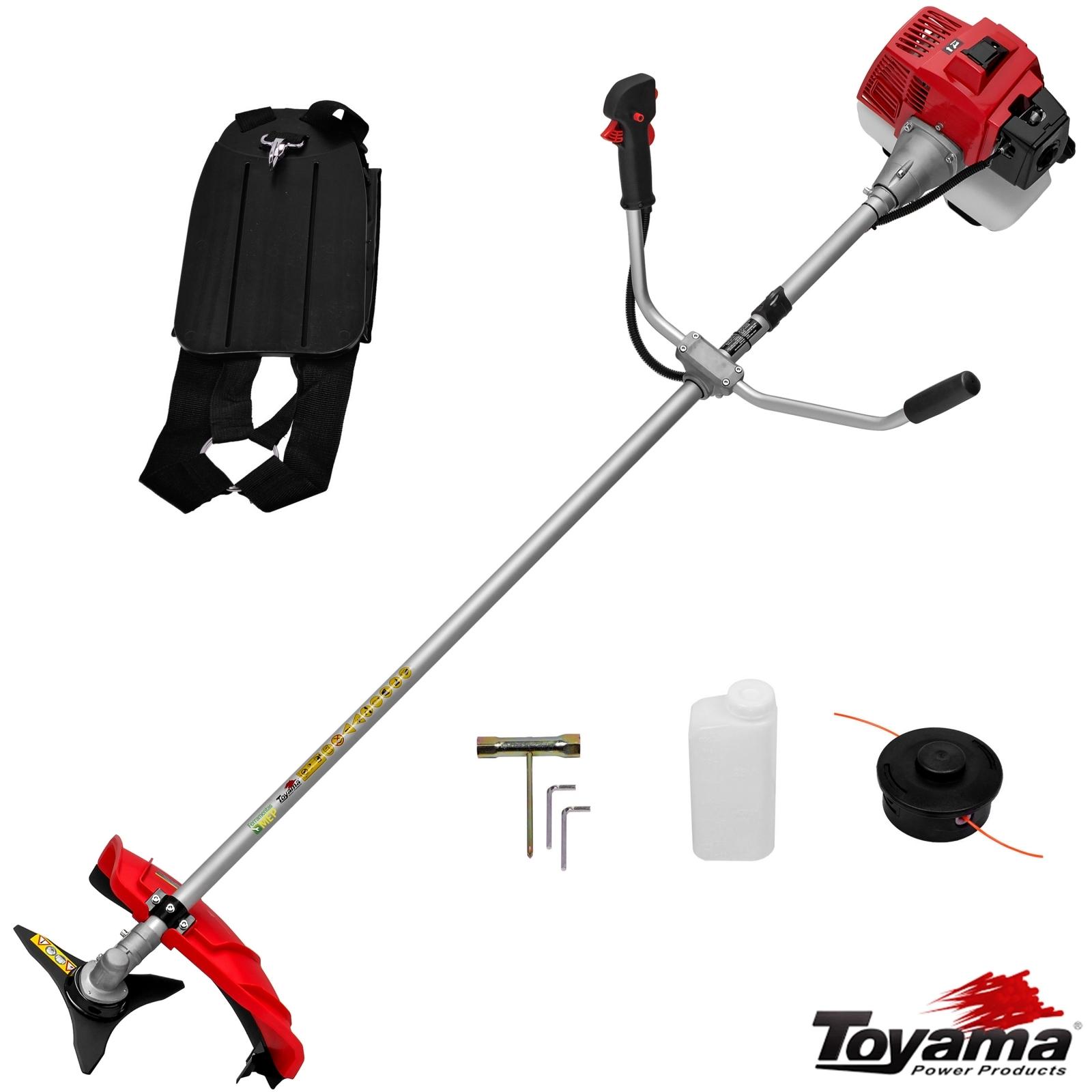 Roçadeira Lateral A Gasolina Toyama Tbc52x 51,2cc - Ro3 - Ferramentas MEP