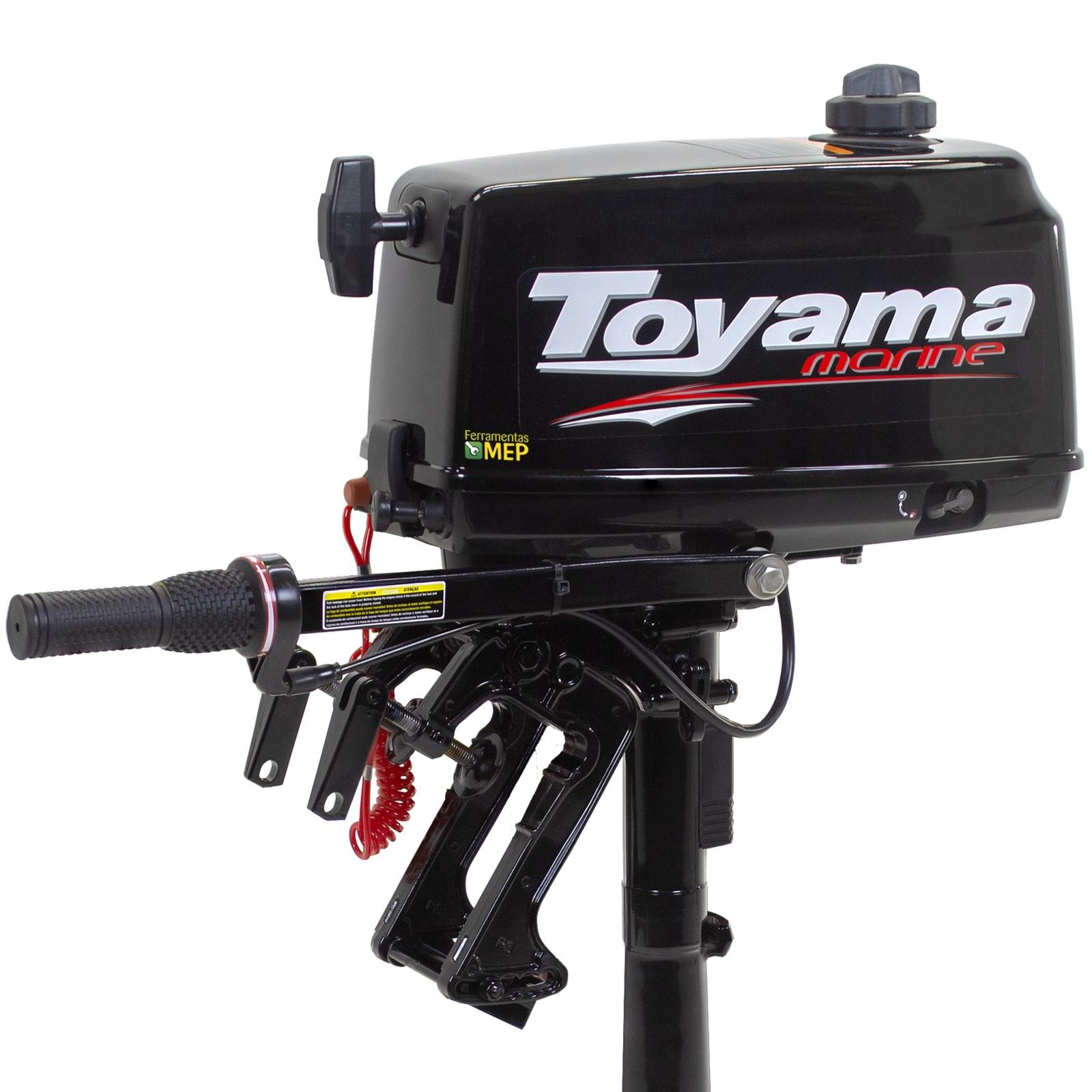 Motor De Popa Toyama TM2,6TS 2,6hp 2t Refrigerado A Água Rb2 - Ferramentas MEP