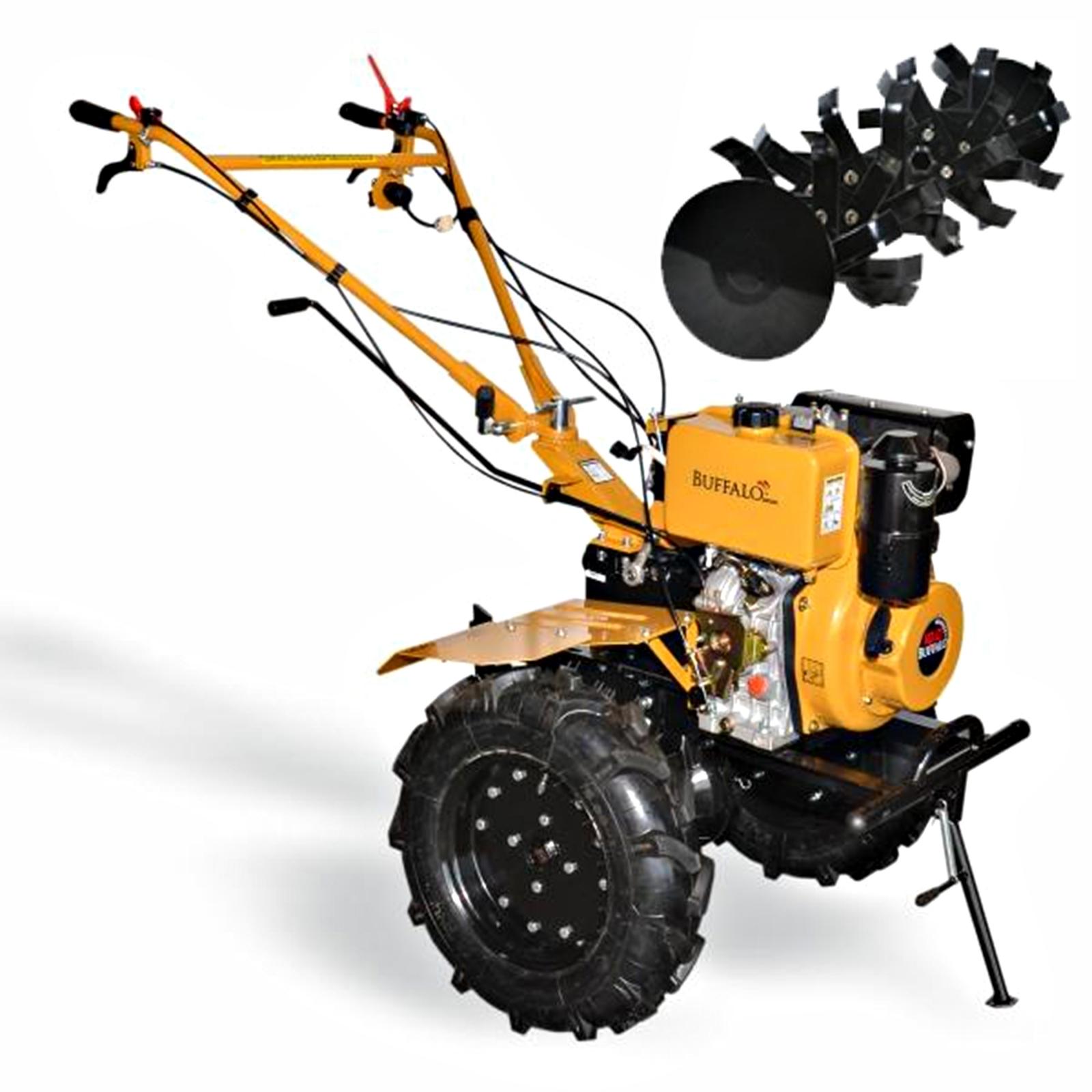 Motocultivador A Diesel Com Enxada Rotativa Buffalo Bfde 1120 Plus Mc7 - Ferramentas MEP