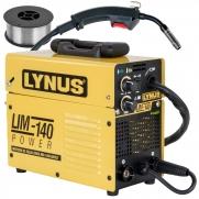 Máquina De Solda Mig Lynus 140amp Bivolt Tig Eletrodo + Arame Ly9