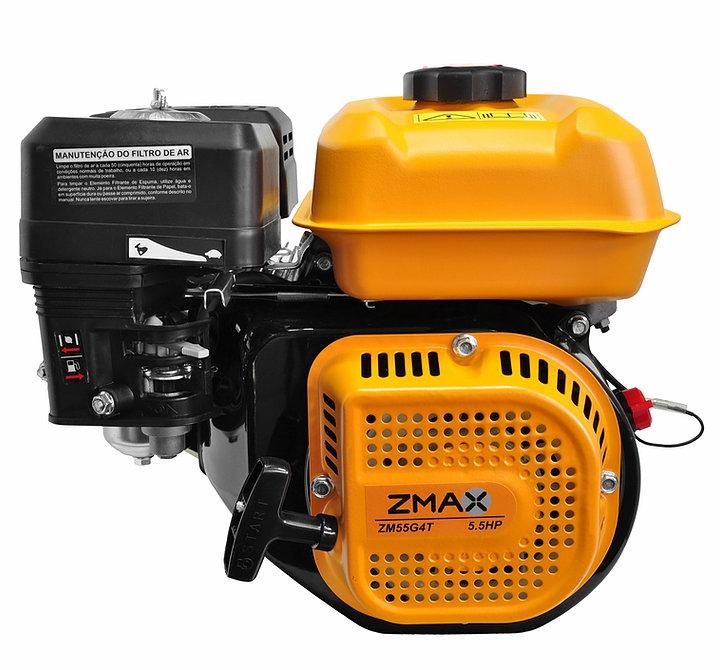 Motor Estacionário a Gasolina 5,5hp Partida Manual Zmax ZM55G4T - Ferramentas MEP