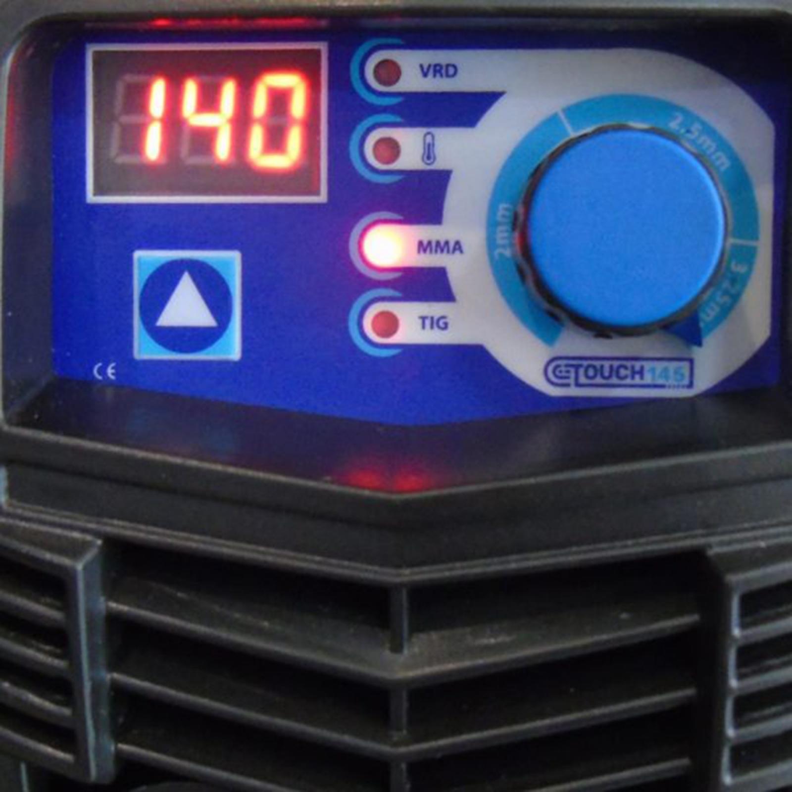 Inversora De Solda Eletrodo Boxer Touch 145 140amp 220v - Te7 - Ferramentas MEP