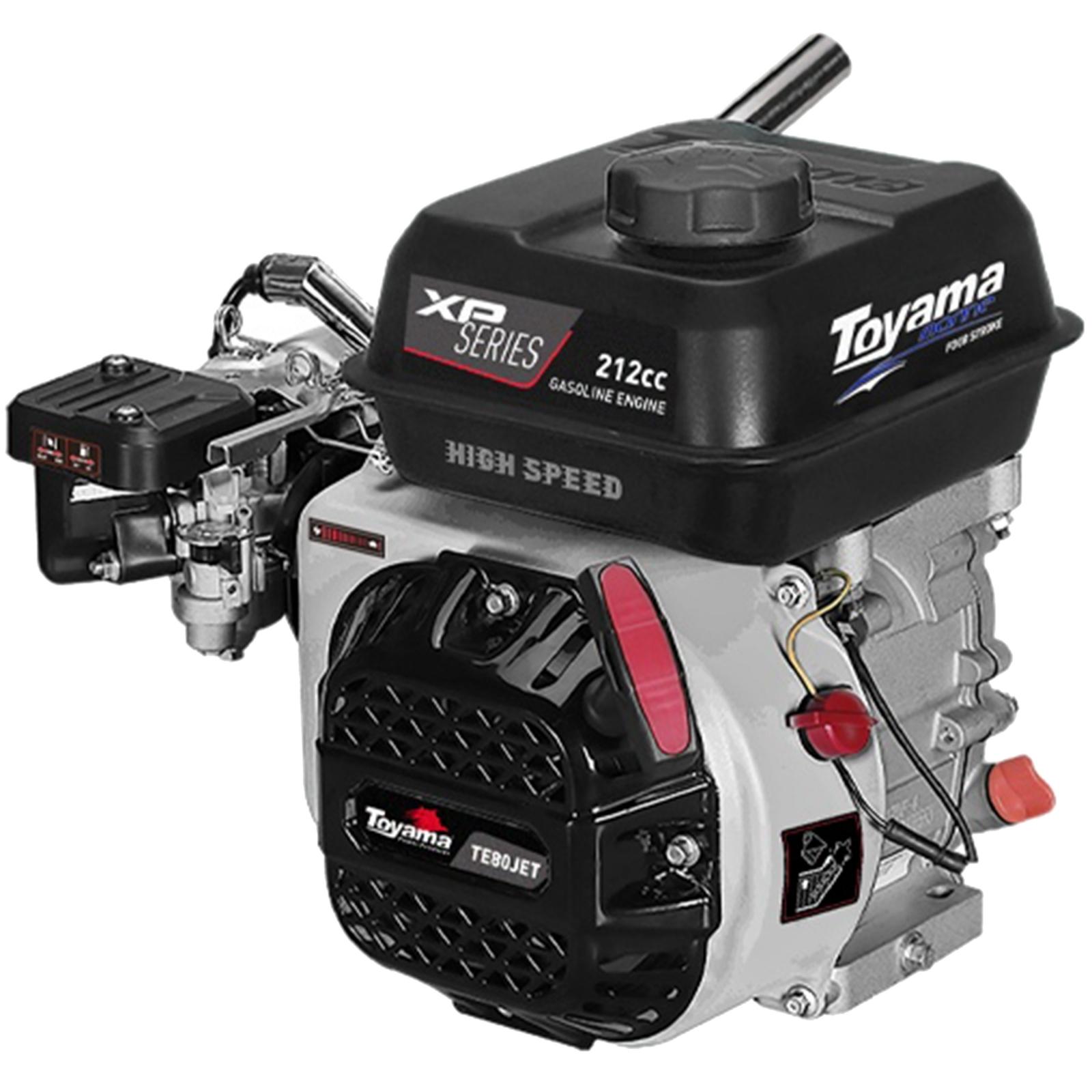 Motor De Popa A Gasolina 8hp Toyama Te80jet Hs Xp 4600rpm - Ferramentas MEP