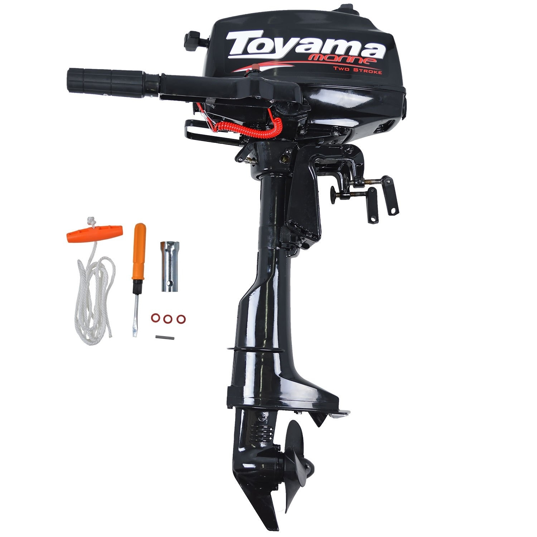 Motor De Popa Toyama TM3.6TS 3,6hp 2t Refrigerado A Água Rb4 - Ferramentas MEP