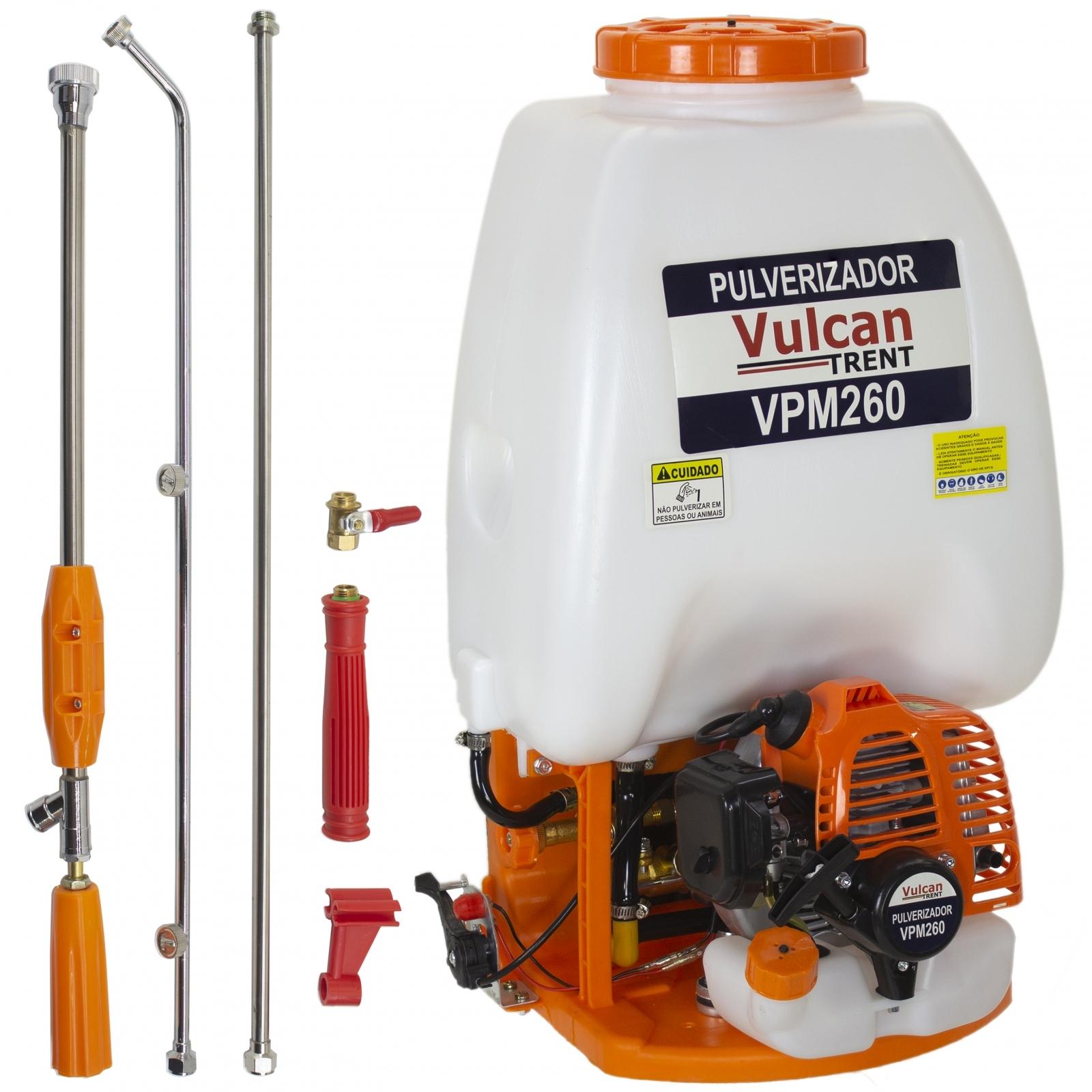 Pulverizador Costal Motor A Gasolina Vulcan Vpm260 Trent - Pc5 - Ferramentas MEP