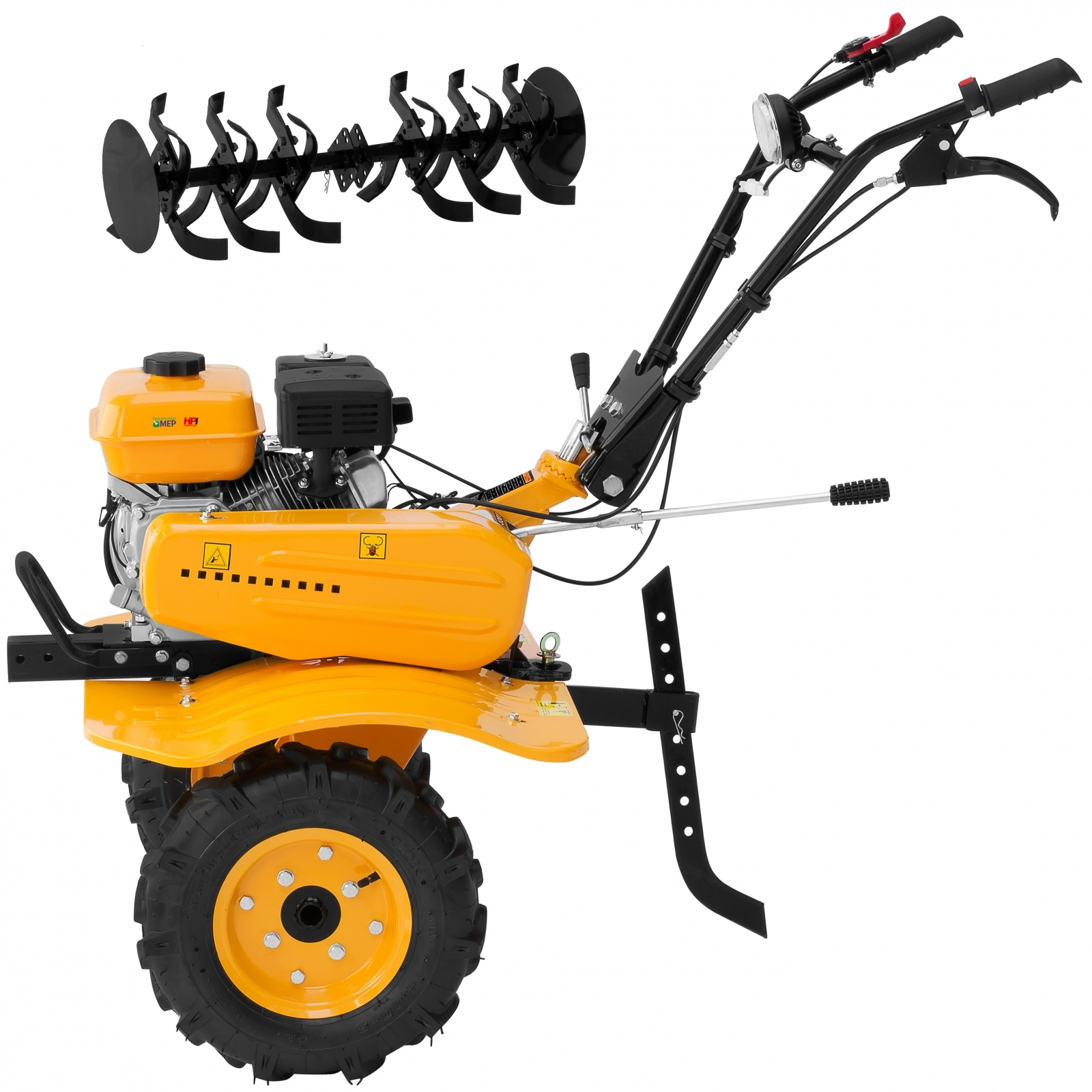 Motocultivador a Gasolina com Enxada Rotativa 7hp Zmax ZT900 Er1 - Ferramentas MEP