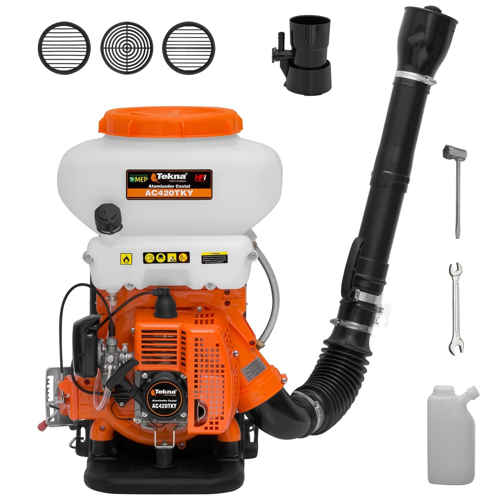 Atomizador Costal A Gasolina Tekna Modelo Ac420tky At2 - Ferramentas MEP