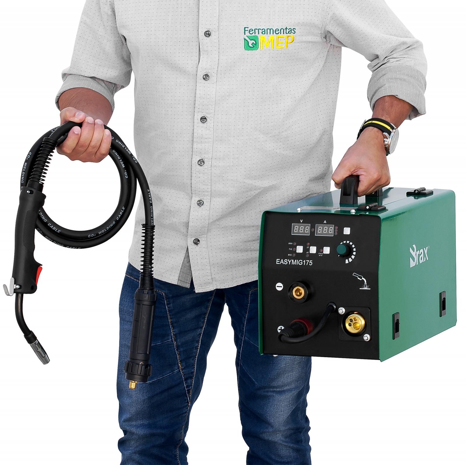 Maquina de Solda Mig Mag Brax 175 e Tig Completa - Ferramentas MEP