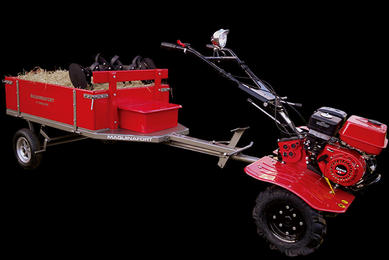 Carretinha Agrícola Para Motocultivador Tratorito Trator - Im6 - Ferramentas MEP