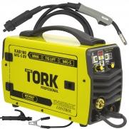 Máquina De Solda Mig Tork 180amp Mag Tig Mma Bivolt Mt5