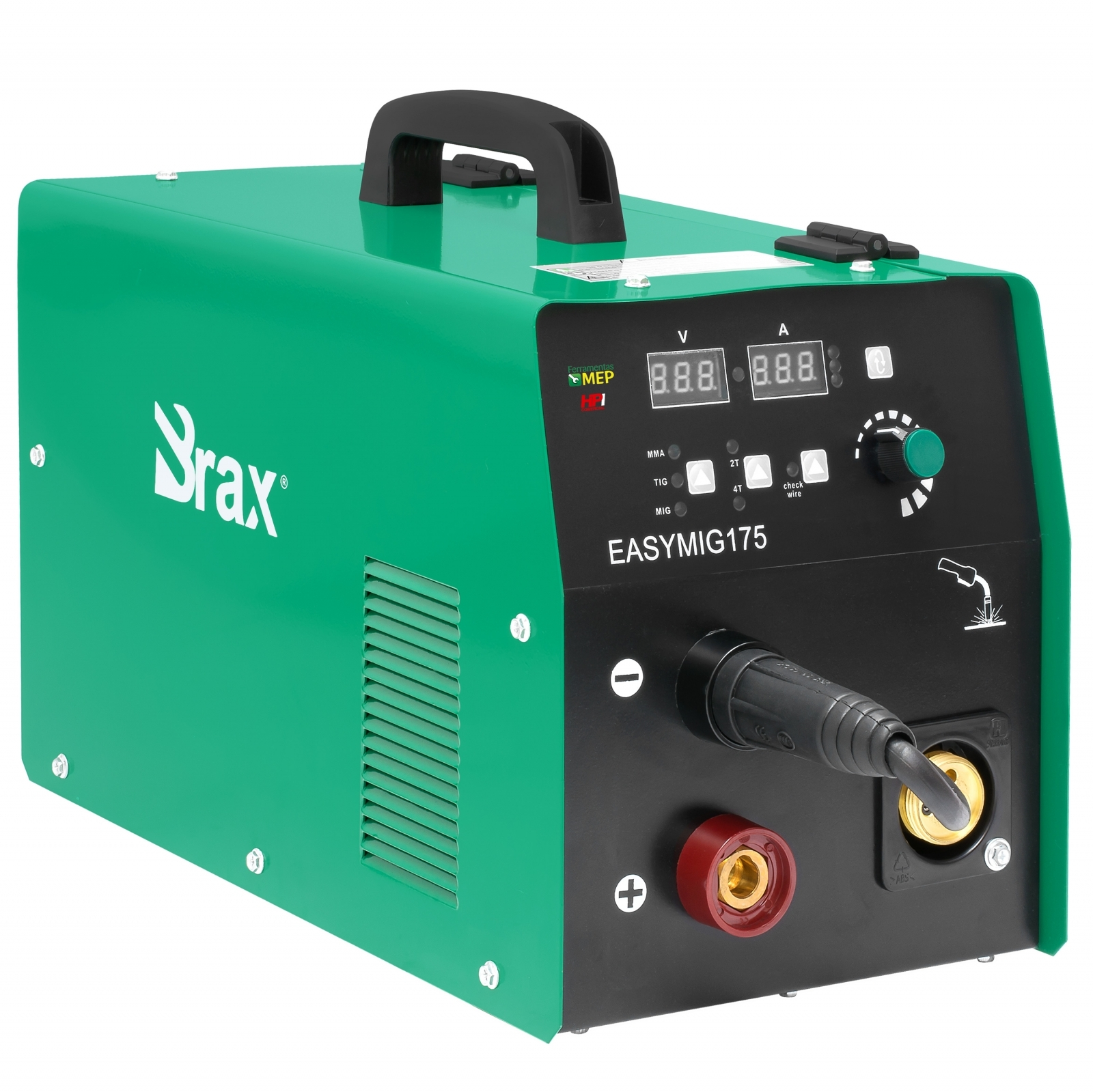 Máquina De Solda Mig Brax 175amp Multiprocesso 220v Mb7 - Ferramentas MEP