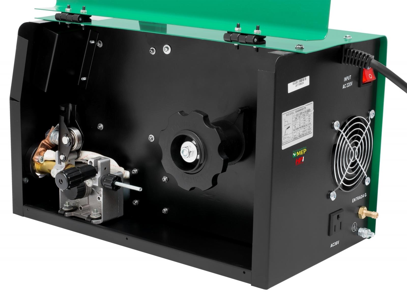 Inversora De Solda Mig Mag Brax 175 Multiprocesso 220v - Ferramentas MEP