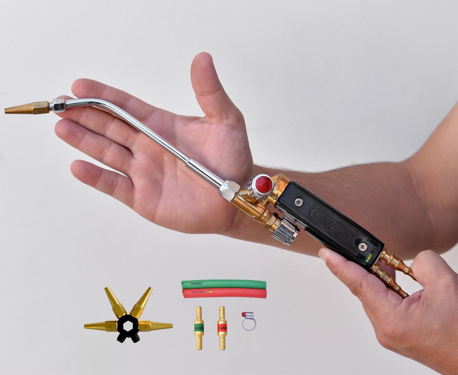 Maçarico Solda Ourives Artesanato Joia Protético Micro Cobre - Sf6 - Ferramentas MEP
