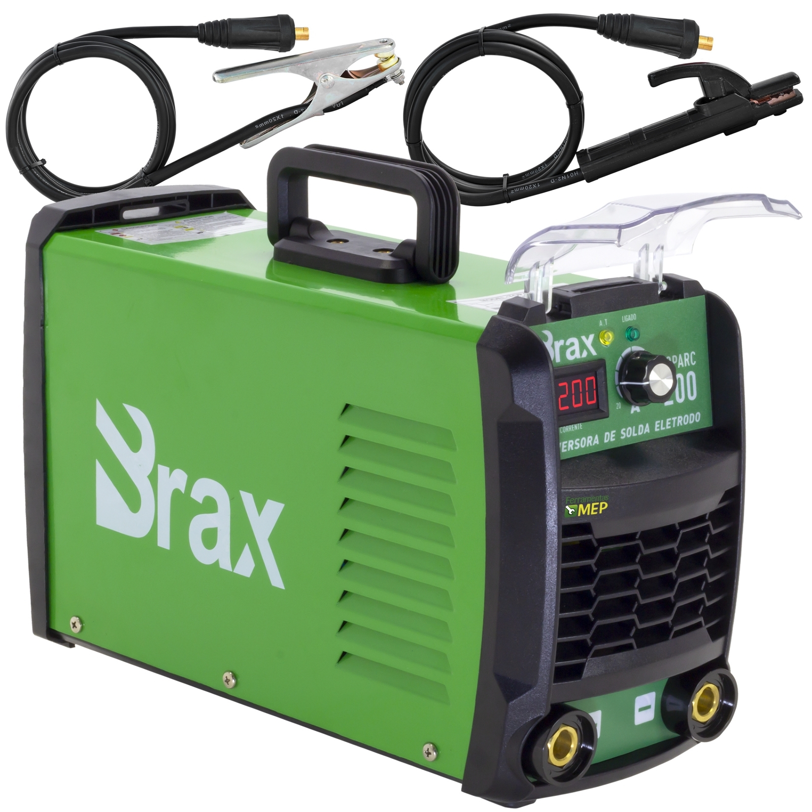 Máquina Solda Inversora Brax 200amp Mma eletrodo Ou Tig Bivolt Bx7 - Ferramentas MEP