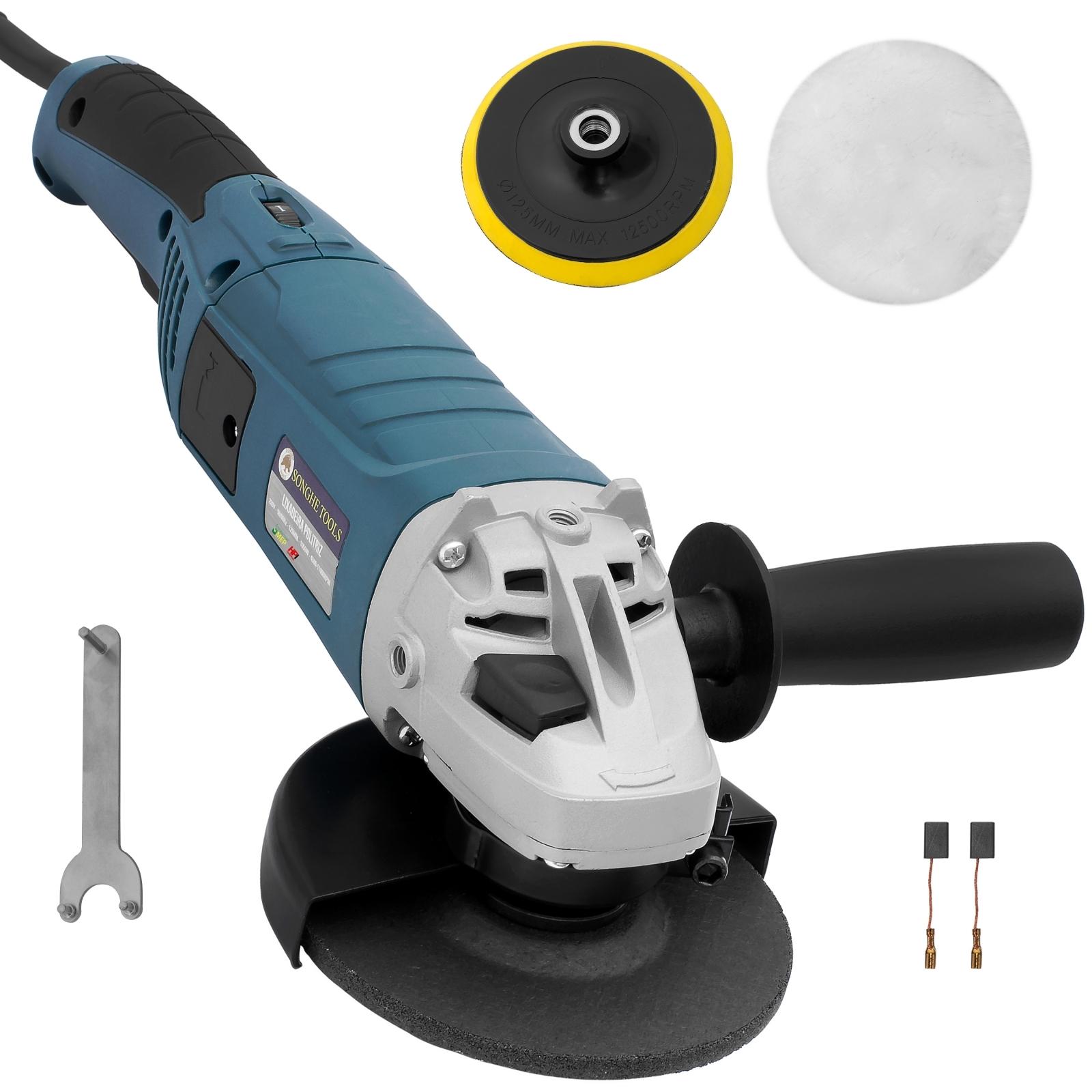 Politriz Lixadeira e Esmerilhadeira Songhe Tools SH 0266 - Ferramentas MEP