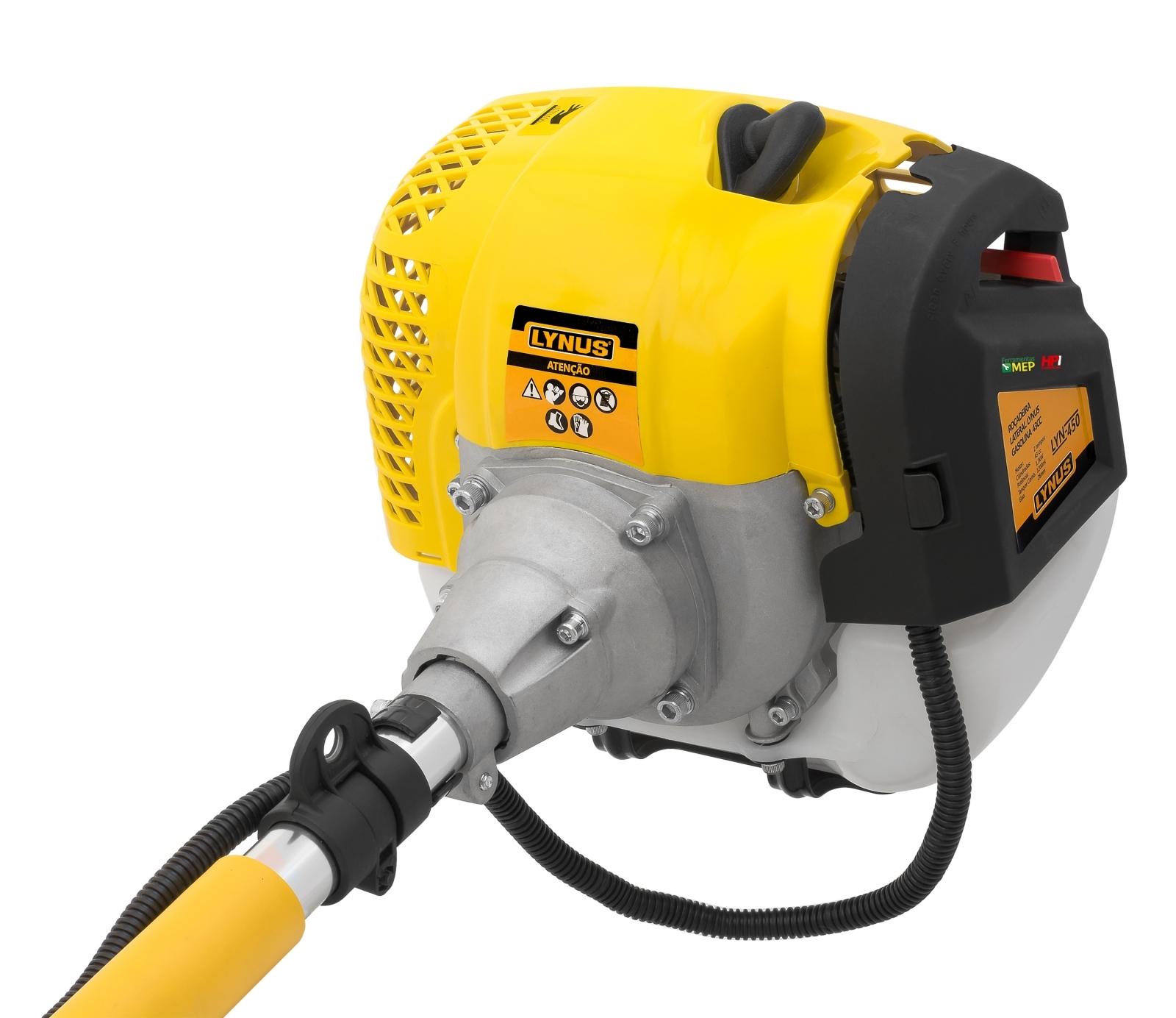 Roçadeira A Gasolina Profissional Lynus 43cc - Ferramentas MEP