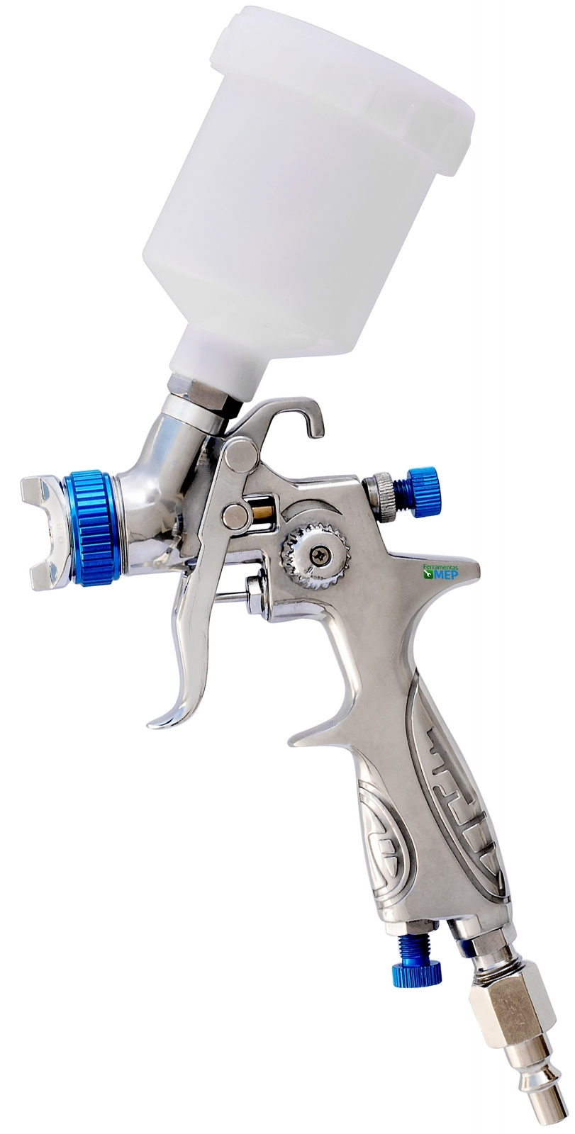 Pistola De Pintura Mini Hvlp PDR Pro-535 Bico 0,8mm Pi1 - Ferramentas MEP