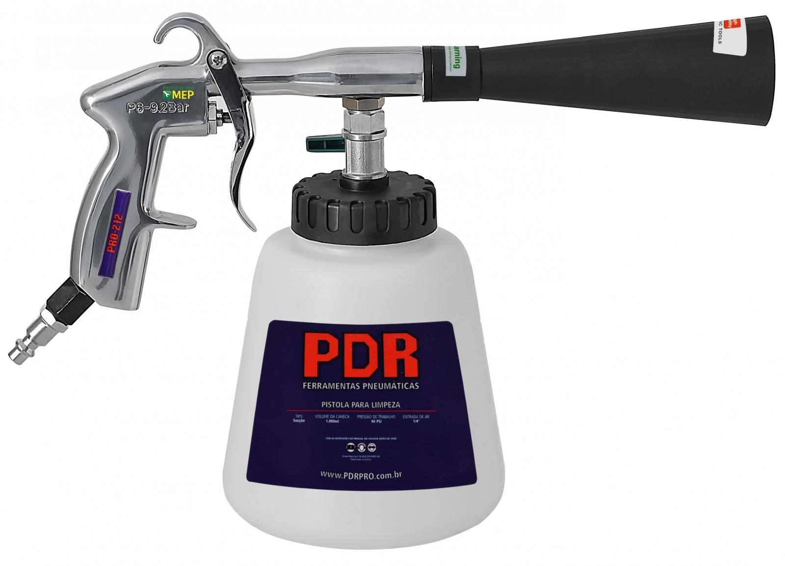 Tornador De Limpeza Profissional PDR Pro-212 - Ferramentas MEP