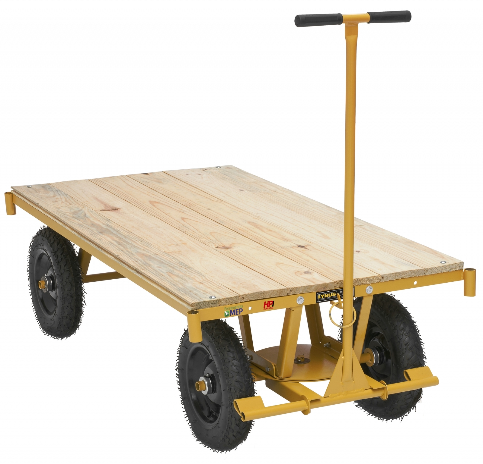 Carrinho Para Movimentação Transporte De Cargas Plataforma Mp1 - Ferramentas MEP