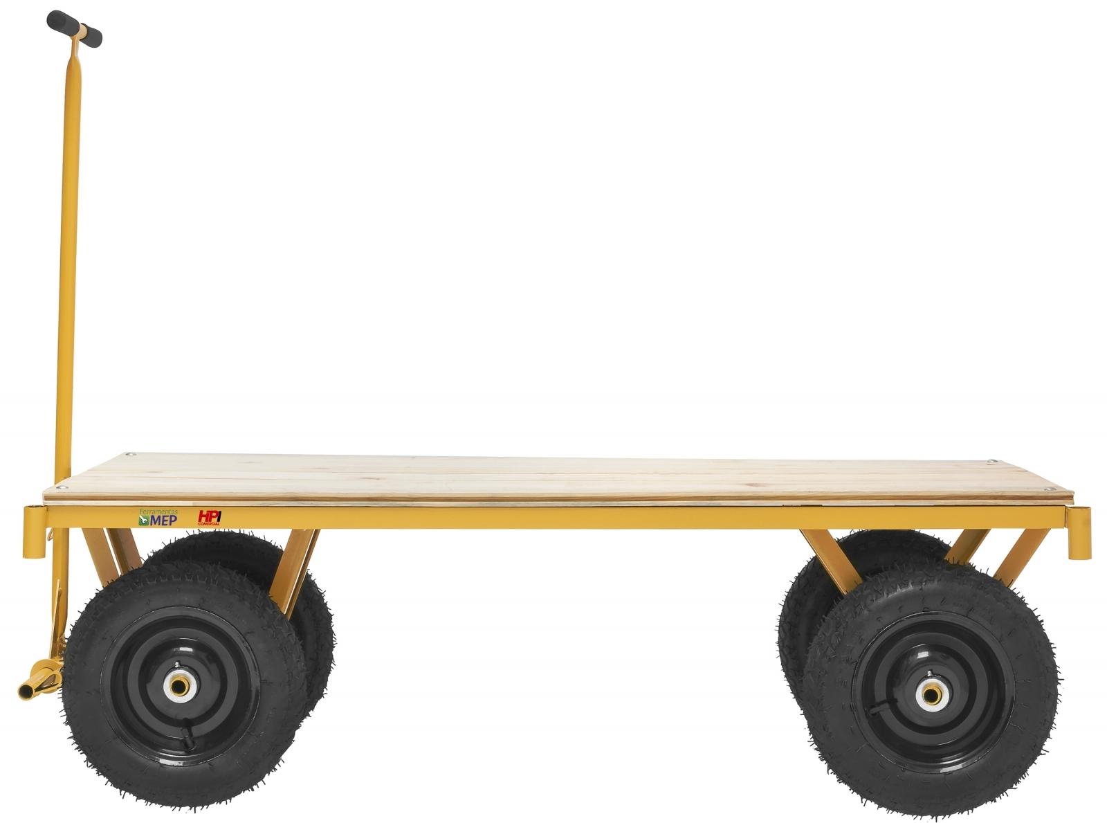 Carrinho Para Movimentação Transporte De Cargas Plataforma - Ferramentas MEP