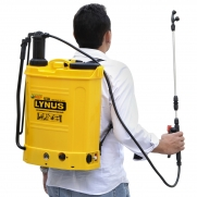 Pulverizador Costal 18 Litros Lynus PL18B Bateria e Manual Ly1