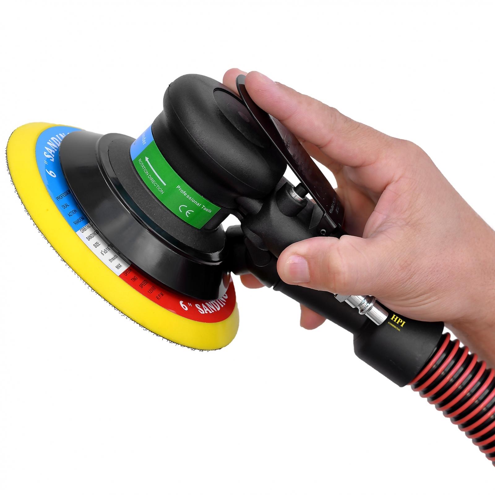 Lixadeira Pneumática Roto Orbital Hookit PDR Pro-400 - Ferramentas MEP
