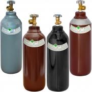Cilindro de gás  1mt3 7lts Mistura Argônio Nitrogênio Oxigênio