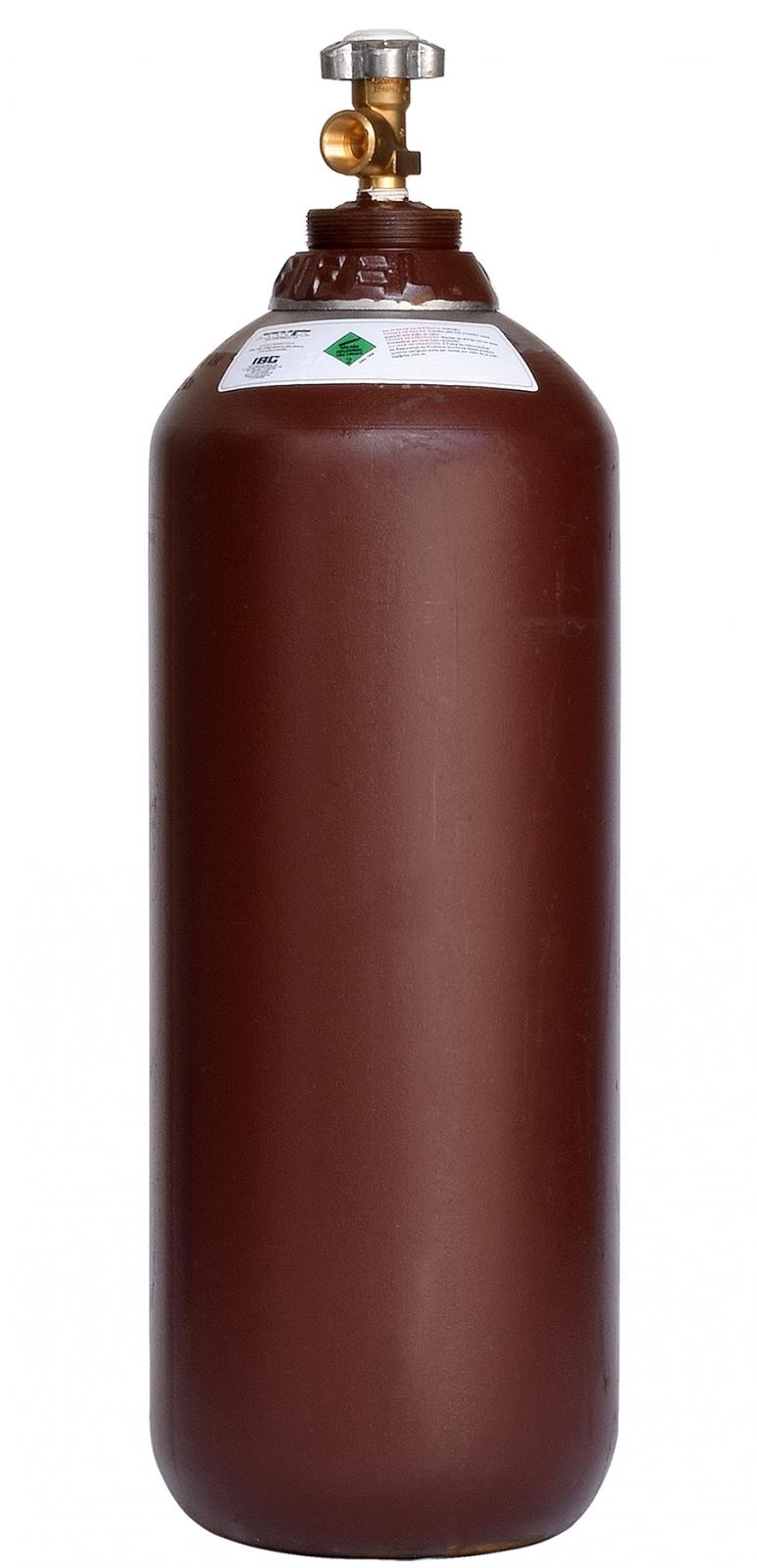 Cilindro  4mt3 Vazio Mistura Argônio Nitrogênio Co2 Oxig - Ferramentas MEP