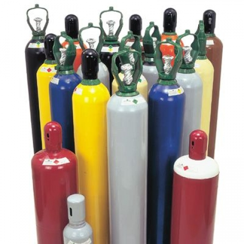 Cilindro de gás  7mt3 40lts Mistura Argônio Nitrogênio Oxigênio - Ferramentas MEP