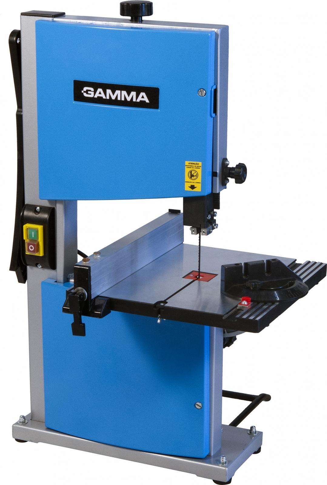 Serra Fita De Bancada Para Madeira Gamma G122 350 Watts - Ferramentas MEP
