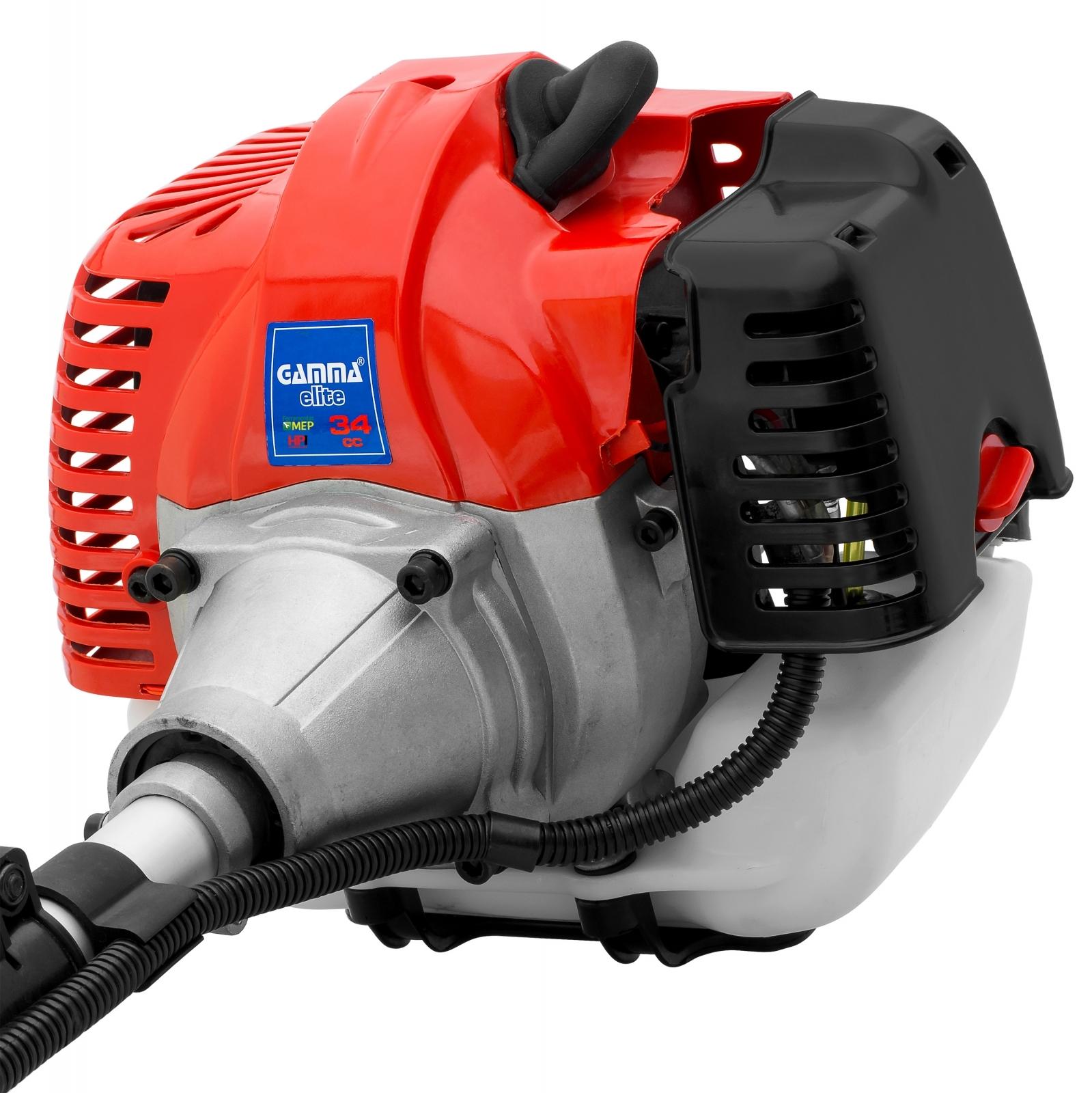Roçadeira A Gasolina Gamma Elite 34CC G1837BR - Ferramentas MEP