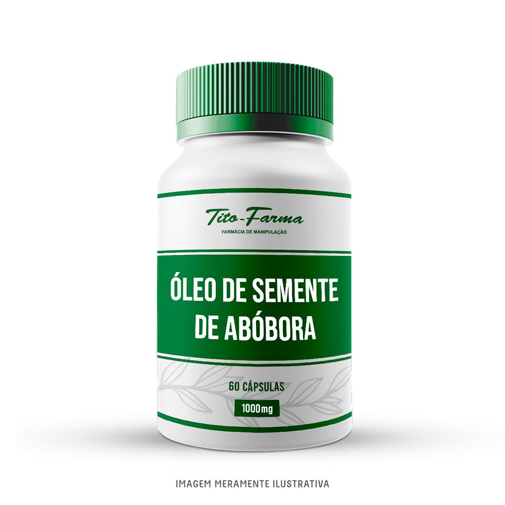 Óleo de Semente de Abóbora - Ação Antioxidante e Melhora no Sistema Imunológico (60 Cps) - Tito Farma