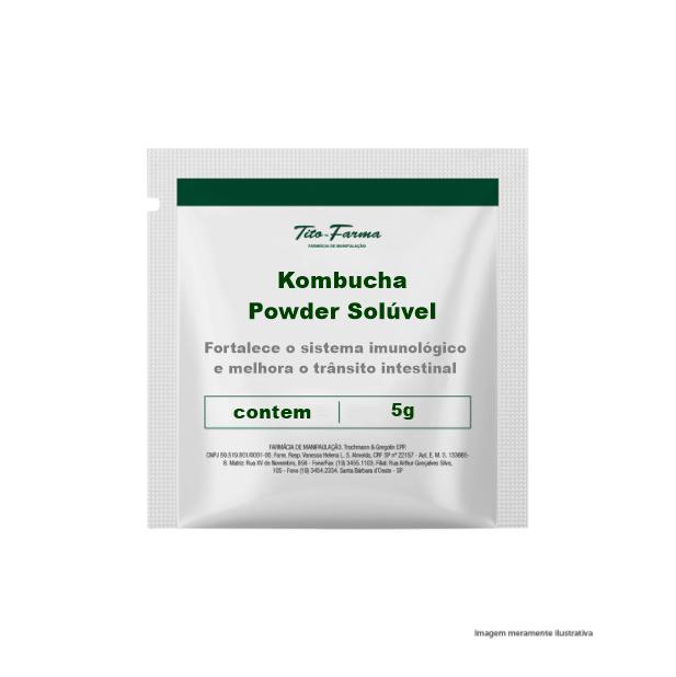 Kombucha Powder Solúvel - Fortalece o sistema imunológico e melhora o trânsito intestinal  - Tito Farma