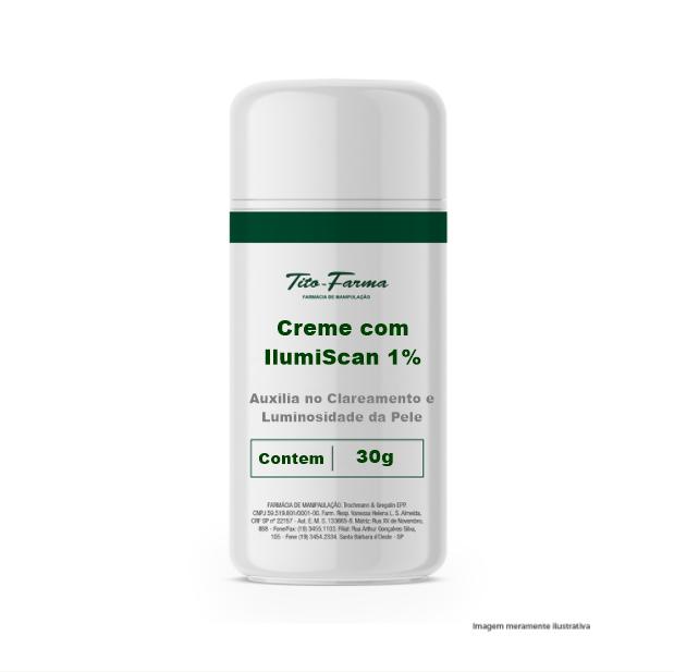 Creme com IlumiScan 1% - Auxilia no Clareamento e Luminosidade da Pele (30g) - Tito Farma
