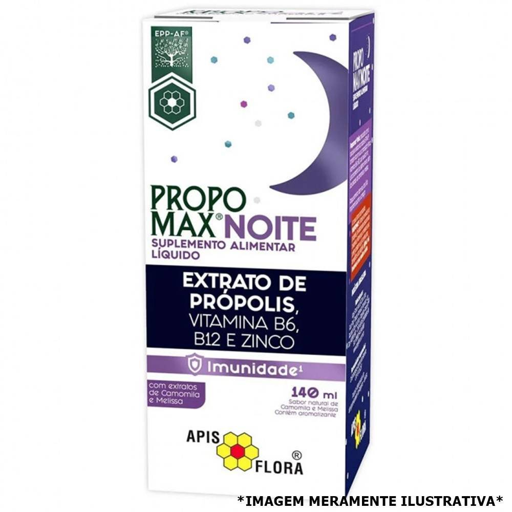 Propomax Noite - Auxiliar na Melhora da Imunidade e melhor Qualidade do Sono (140 mL) - Tito Farma