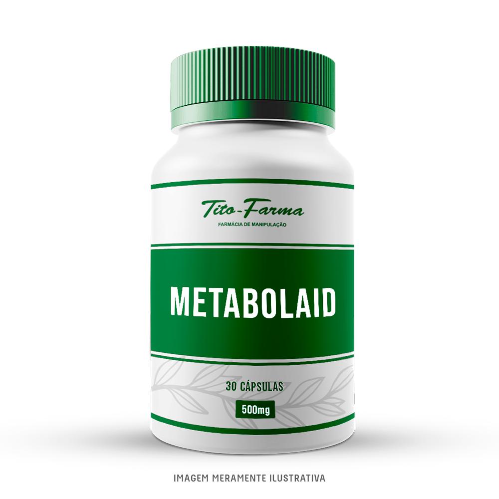 Metabolaid®- Auxiliar no Emagrecimento com Efeito Browning (500mg - 30 Cps) - Tito Farma