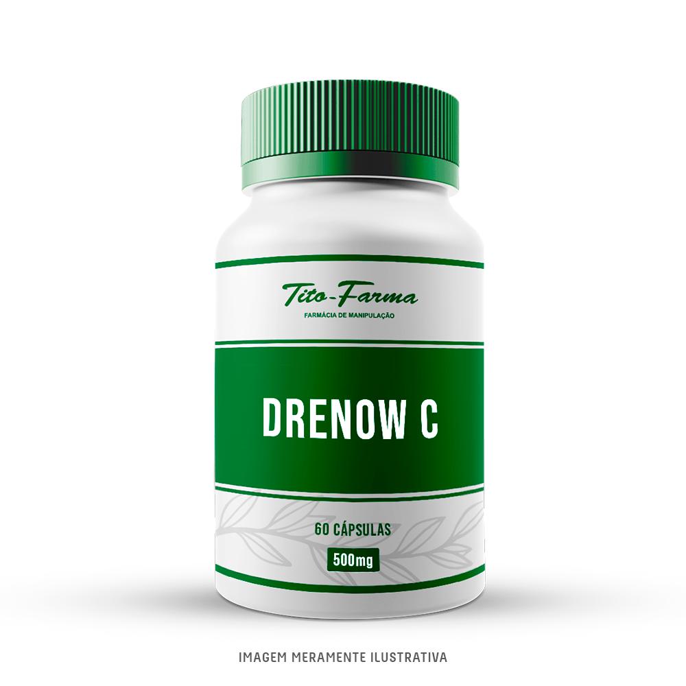 DrenowC® - Sua Drenagem Diária (500mg - 60 Cps) - Tito Farma
