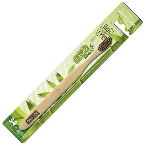 Escova Dental Vegana, Cruelty-Free e 100% Biodegradável - 1 Unidade - Tito Farma