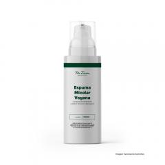 Espuma Micelar Vegana - Limpa Profundamente a Pele e Remove Maquiagem (100mL)