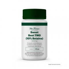 Sweet Beet TMG - Proteção Contra Doenças Cardíacas e AVC, e Melhor Oxigenação das Células (30 Cps)