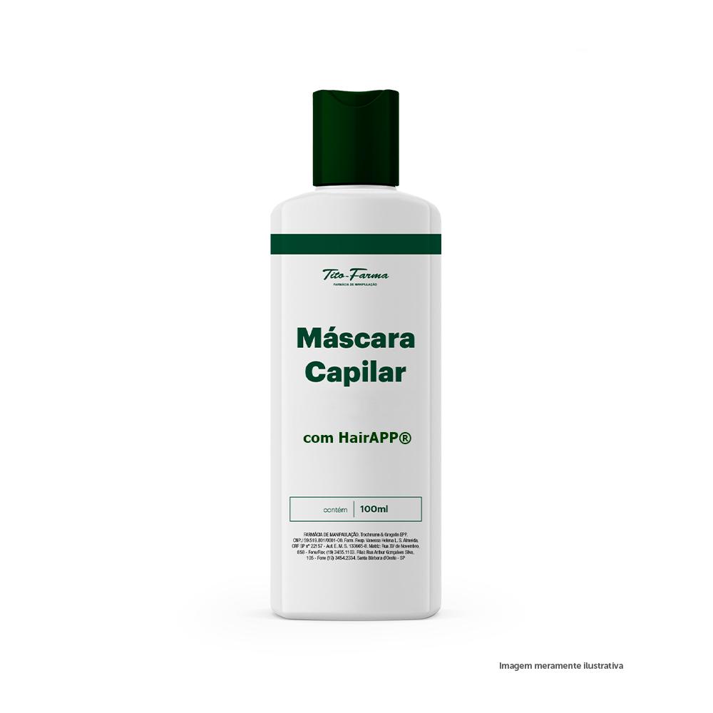 Máscara com HairAPP® - Cabelos Lisos e Disciplinados de Forma Natural (100mL) - Tito Farma