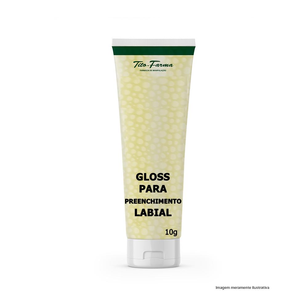 Gloss para Preenchimento Labial (com Epiderfill Plus) - Lábios com Mais Volume (10g)  - Tito Farma