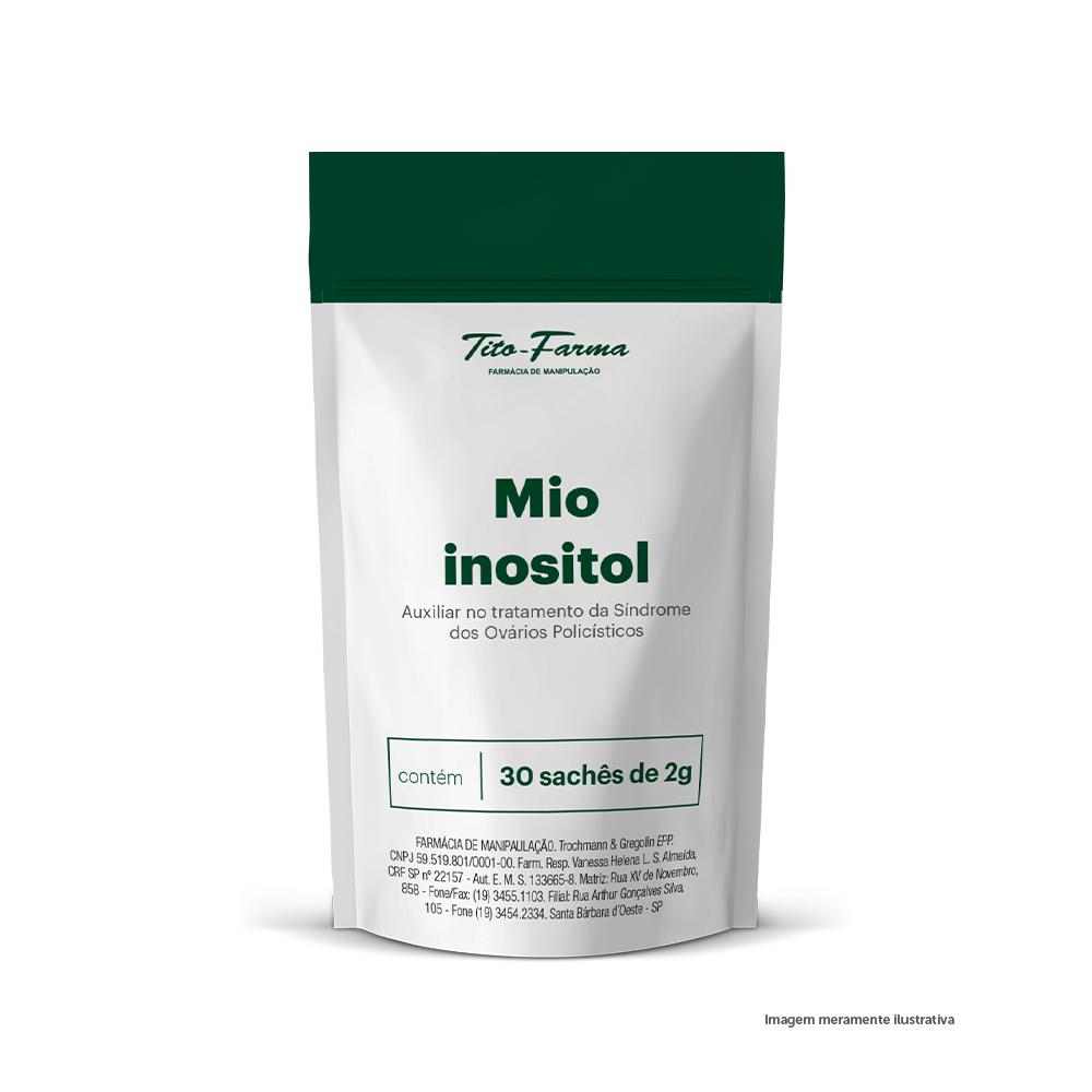 Mio inositol - Auxiliar no tratamento da Síndrome dos Ovários Policísticos (2g- 30 doses) - Tito Farma