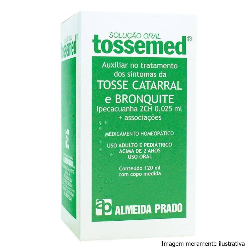 Tossemed Solução oral - Auxiliar no Tratamento de Tosse Catarral e Bronquite (120mL) - Tito Farma